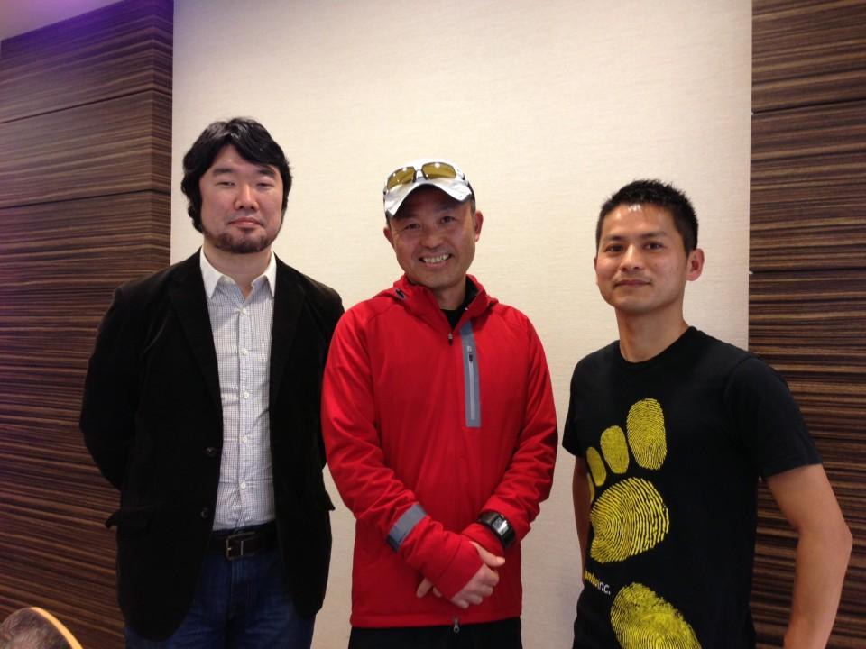 金哲彦さんとフォアフット着地に対する対談終了!!!