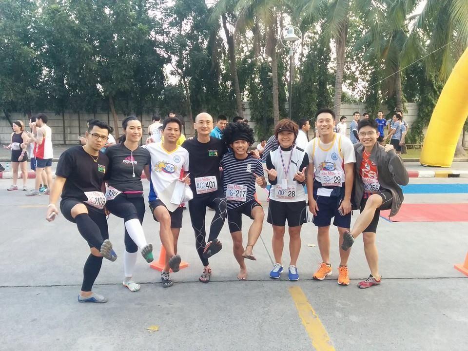 タイで初のレースに出ました!