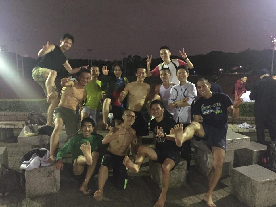 アキレス腱完全断裂から7ヶ月、奥武蔵駅伝裸足チーム選考会に参戦!