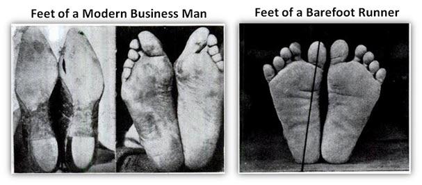 あなたの足はそもそも裸足で走れる足になっているのか?