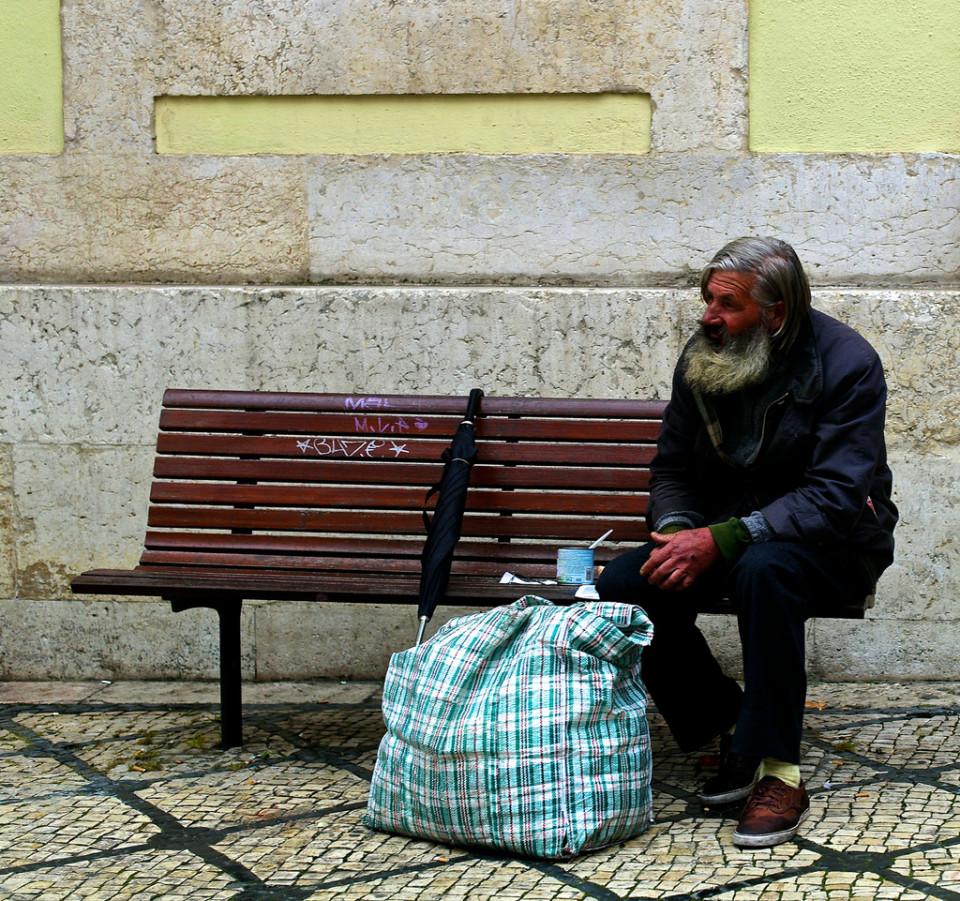 ホームレスの人達の生活に色々なヒントが