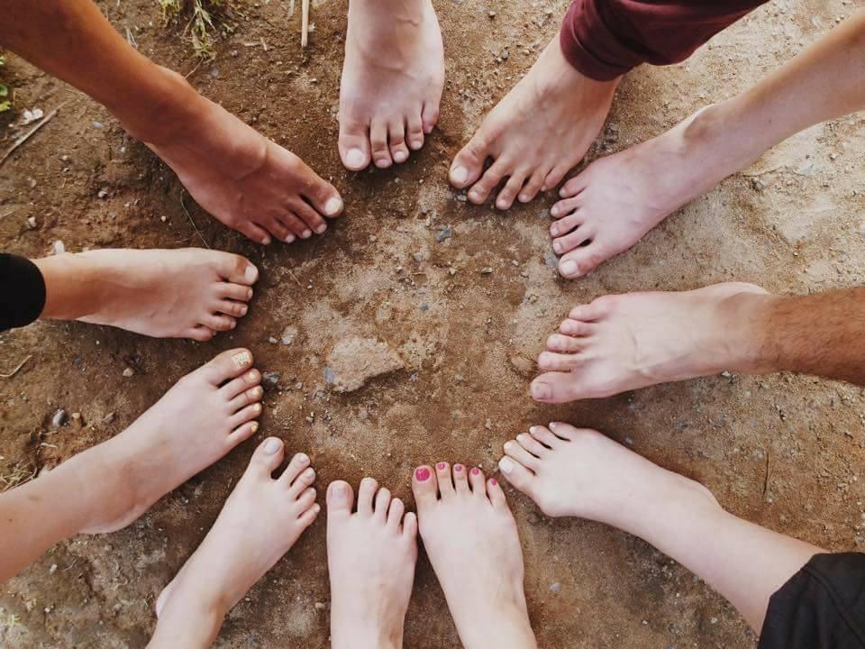 裸足で走れる足になろう! ☆足の形に注目☆