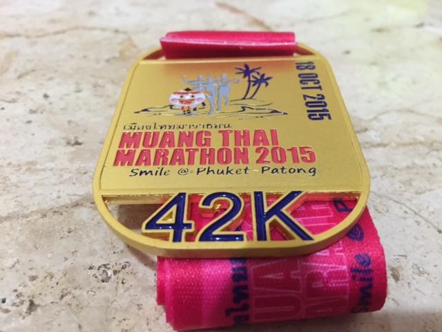 撃沈、Muang Thai マラソン!