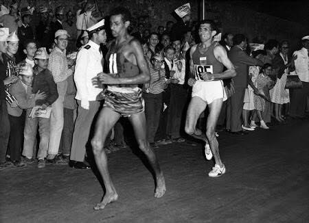 2016年4月17日、かすみがうらマラソンに裸足ランナーが集結!