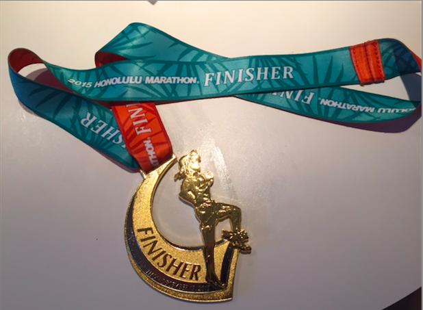 ホノルルマラソン完走しました!