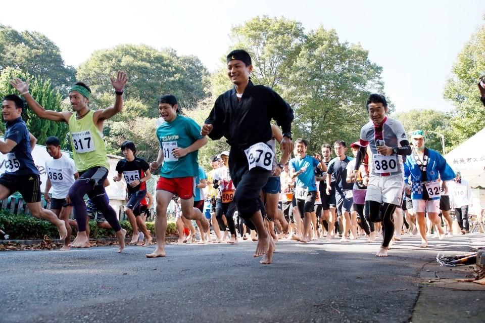 5月15日 第五回飯能ベアフットマラソンエントリー受付開始!!