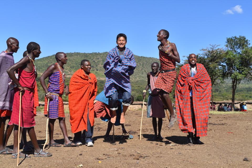 Running with Kenyans 〜Masai Jump!〜 初観光!