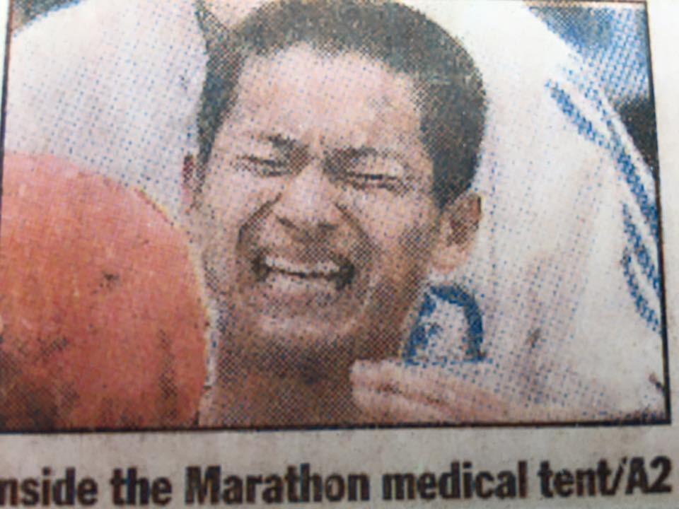 レース中の痙攣 パート2 原因は糖質にあり?